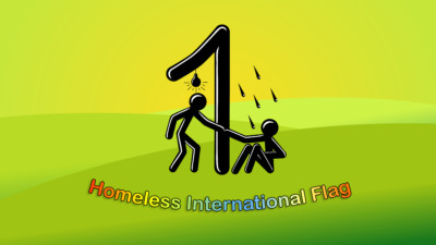 Homeless International Flag