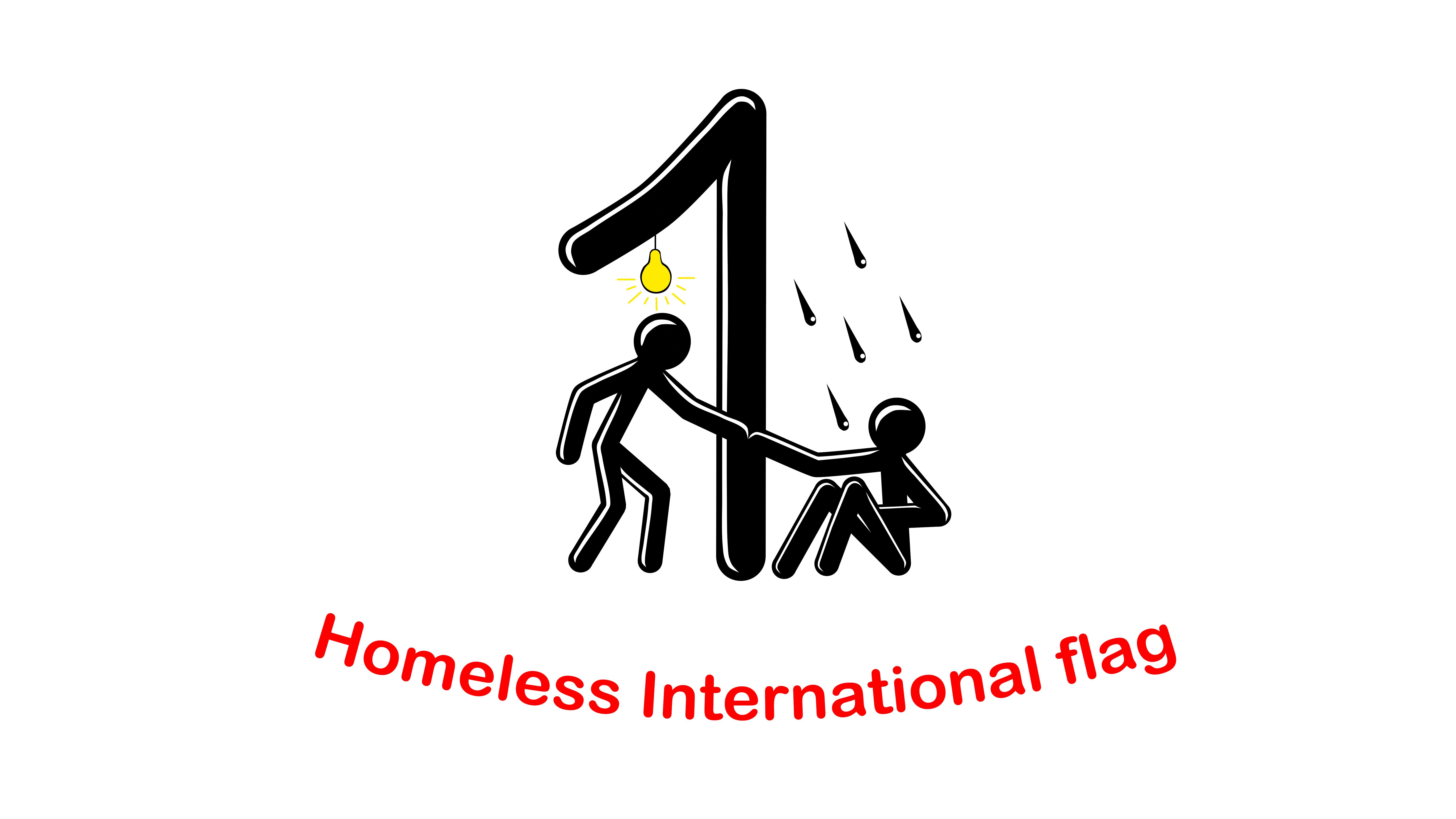 Homeless International Flag