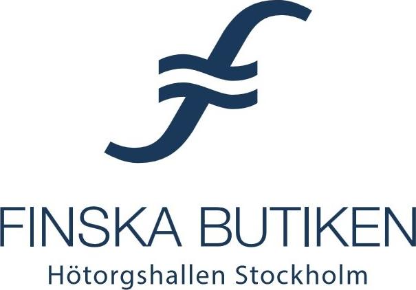 Logotyp för Finska Butiken i Stockolm